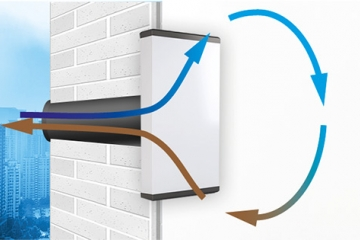 Рекуператор воздуха для дома купить в Минске, рекуператор для квартиры