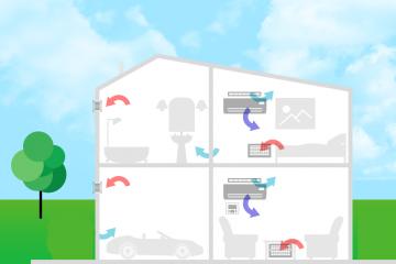 Как организовать бюджетную систему воздухообмена в собственном доме