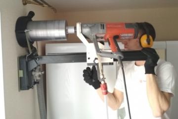 Монтаж систем вентиляции, установка рекуператора, вентиляционный клапан для пластиковых окон