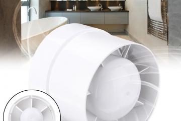 Вентилятор вытяжной канальный для ванны – купить в Минске по выгодной цене