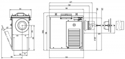 Приточная вентиляция с уличным блоком Ventmachine Satellite 2